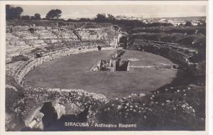 Italy Siracusa Anfiteatro Romano