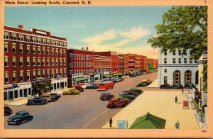New Hampshire Concord Main Street Looking South