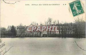 Postcard Abbey of Vaux Cernay