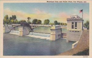 Indiana Fort Wayne Municipal Dam And Power Plant