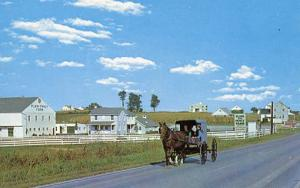 PA - Intercourse. Amish Buggy