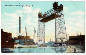 Halsted Steel lift Bridge, Chicago IL