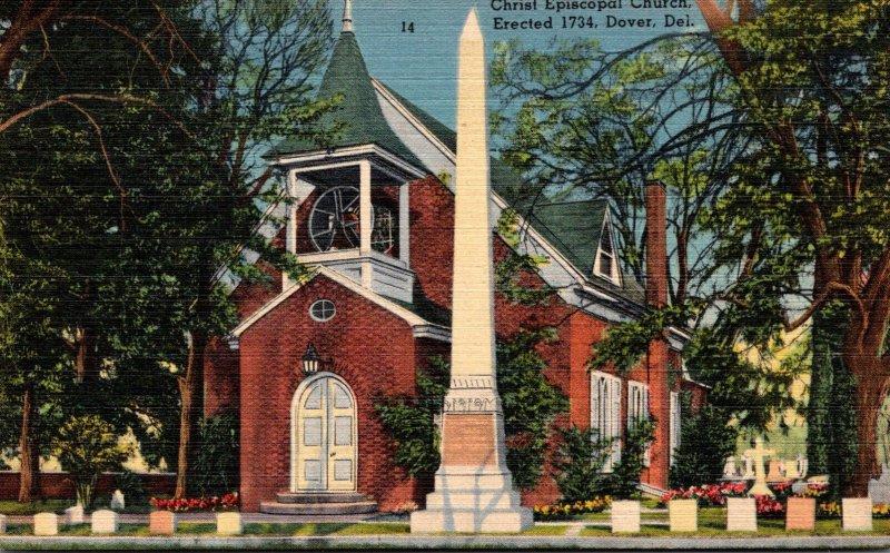 Delaware Dover Christ Episcopal Church Erected 1734