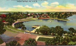 FLorida Tarpon Springs Beautiful Spring Bayou Curteich