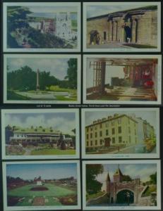 Quebec City lot of 9 PCs scenes Lorenzo Audet 1950s