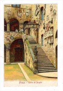 Firenze - Cortile del Bargello , ITALY , 00-10s