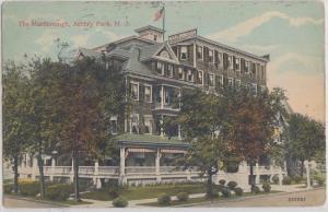 ASBURY PARK NJ - THE MARLBOROUGH HOTEL 1910s era / CLOSED