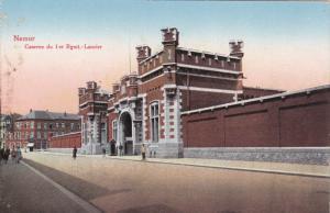 NAMUR, Belgium, 1900-1910's; Caserne Du 1er Regmt. Lancier