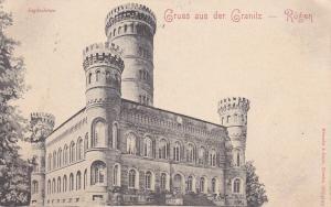 GRUSS AUS DER GRANITZ-RUGEN, Germany, 1900-1910s; Jagdschloss
