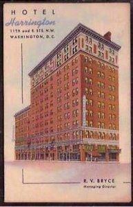 DC Harrington Hotel 1955