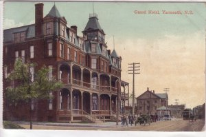 Grand Hotel, Yarmouth, Nova Scotia, Canada, 1911 !