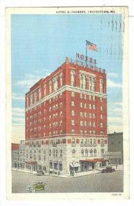Hotel Alexander, Hagerstown, Maryland, PU-1936