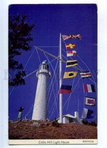 203190 BERMUDA GIBBS HILL LIGHTHOUSE Vintage postcard