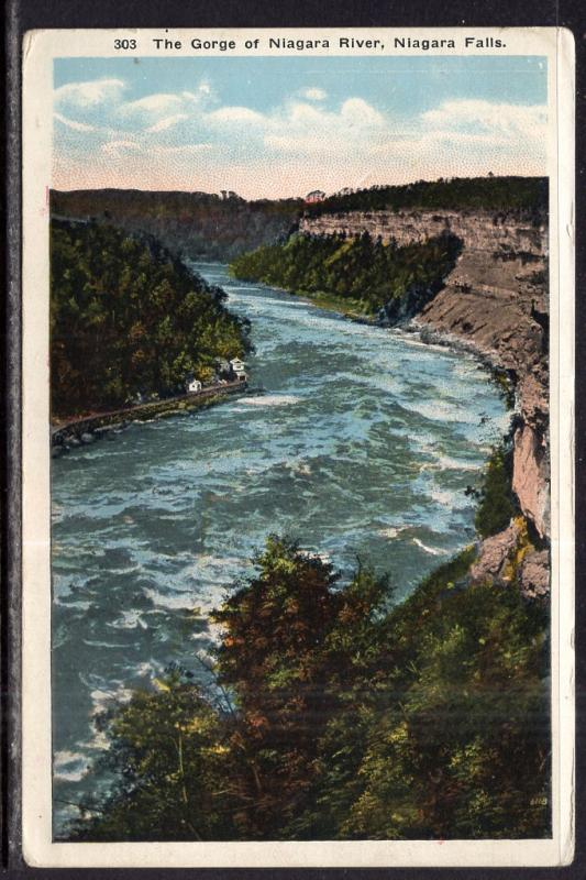 The Gorge of Niagara River,Niagara Falls,NY BIN