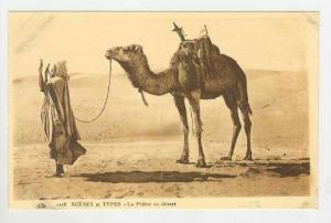Scenes et Types - La Priere au desert, 00-10s