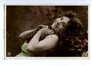 175273 BELLE Woman LONG HAIR Dancer Vintage PHOTO NPG 1904 PC