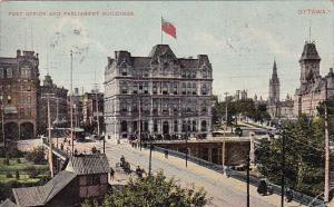 Post Office and Parliament Buildings 1907