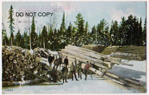 Logging, Naugle Pole & Tie Co, Chicago Ill
