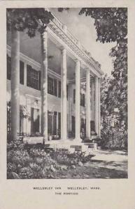 Massachusetts Wellesley Wellesley InnThe Portico Albertype