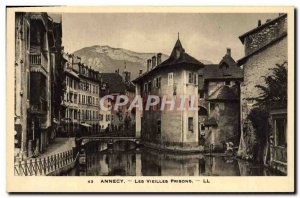Old Postcard Annecy Old Prisons