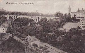 Le Nouveau Pont, Bridge, Luxembourg, 1900-1910s