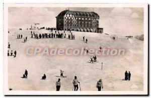 Postcard Old Superbagneres Sports D'Hiver Hotel