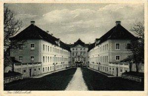 CPA AK Schloss Hirschberg - Exerzitienhaus - Im Schlosshof GERMANY (1031619)