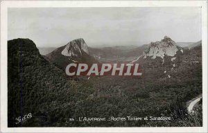 Old Postcard Auvergne Tuiliere Rocks and Sanadoire