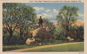 Wisconsin Oshkosh The Hiker Memorial To Spanish War Veterans