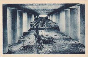 Monument de la Tranchee des Baionnettes Vue interieure, Verdun, Meuse, France...