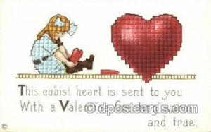 Artist ME Price Valentines Day Postcard Post Cards  Artist ME Price