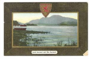 Coat Of Arms, Loch Lomond & Ben Lomond, Scotland, UK 1900-1910s