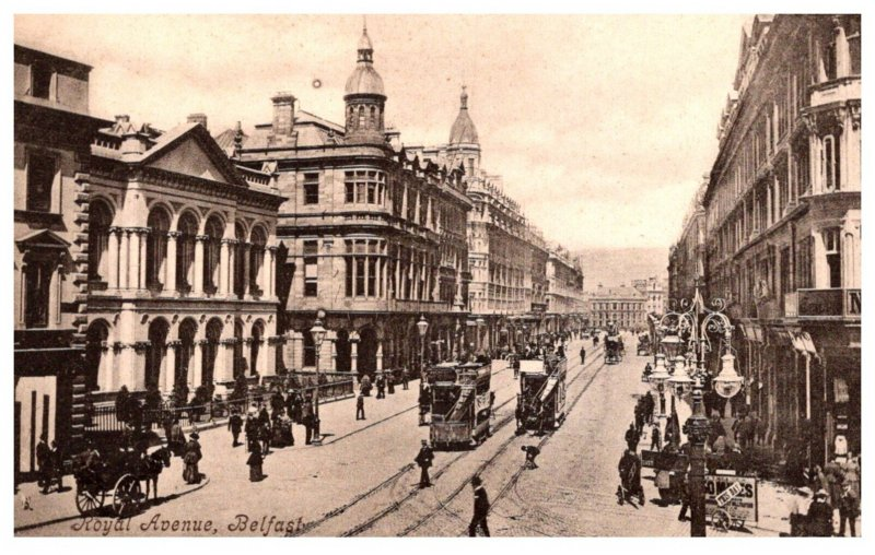 Ireland  Belfast  Royal Avenue