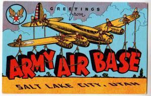Army Air Base, Salt Lake City Utah
