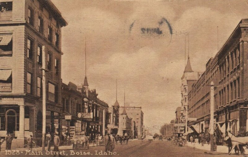 BOISE , Idaho , 1912 ; Main Street