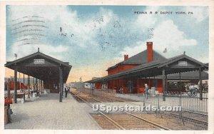 Penna RR Depot - York, Pennsylvania