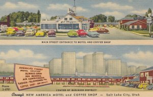 SALT LAKE CITY, Covey's New America Motel and Coffee Shop, Utah, 30-40s