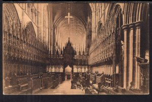 Choir,Chatedral,Chester,England,UK