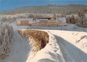 GG069 schwarzenbach hotel schwarzenbachtalsperre  mit hallenschwimmbad  germany