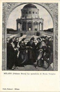 CPA Milano Palazzo Brera . ITALY (541719)