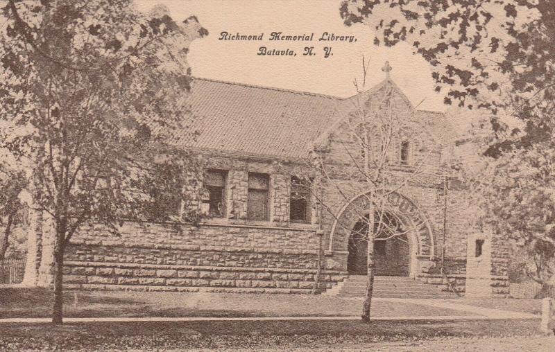 BATAVIA , New York, 00-10s ; Richmond Memorial Library