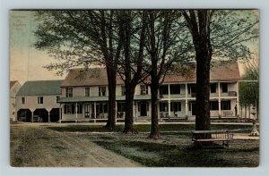 Newfane VT-Vermont, Newfane Inn, Vintage Postcard