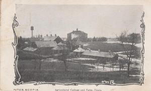 Agricultural College and Farm - Truro NS, Nova Scotia, Canada - DB