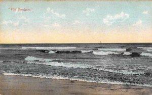 Rehoboth Beach Delaware The Breakers Scenic View Vintage Postcard JG236766