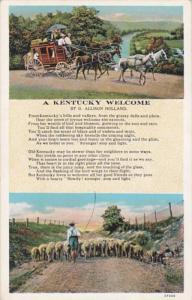 Kentucky Poem A Kentucky Welcome By G Allison Holland Curteich