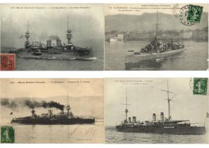 SHIPS, NAVIRE DE GUERRE ,WARSHIPS  MILITAIRE NAVY SHIPS 52 CPA Pre-1940 (L3349)