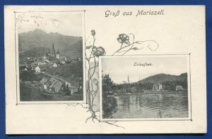 Gruss aus Mariazell Erlaufsee total Germany postcard