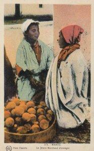MAROC , Le Jeune Marchand d'oranges , 1910s