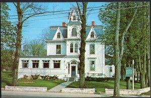 Nova Scotia ~ Bluenose Lodge LUNENBURG pm1978 1950s-1970s