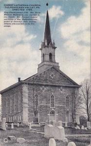 Christ Lutheran Church, Tulpehocken Valley, Pennsylvania, 1910-1920s